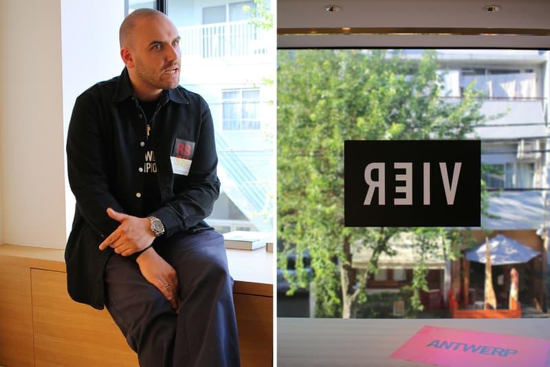 Interviews:アントワープ発の気鋭ショップ VIER のボブ・フォーレンスが語るそのルーツとマインド ヴィーア hypebeast ハイプビースト