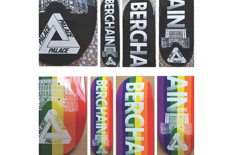 Palace  ベルリン 有名 ナイトクラブ Berghain  テーマ スケートデッキ 一部公開