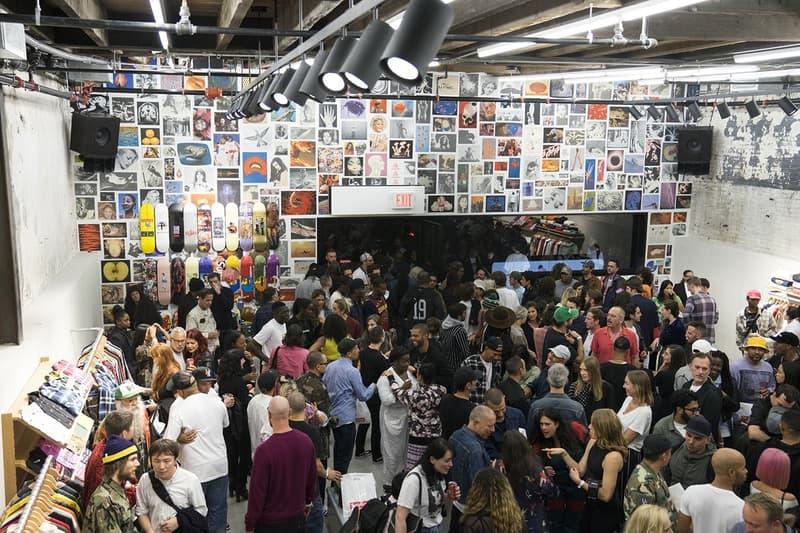 Supreme ブルックリン新店舗ローンチパーティーの様子をレポート シュプリーム