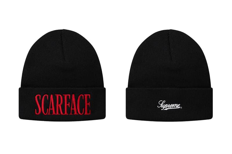シュプリーム x 映画 スカーフェイス コラボ アイテム コラボレーション scarface supreme
