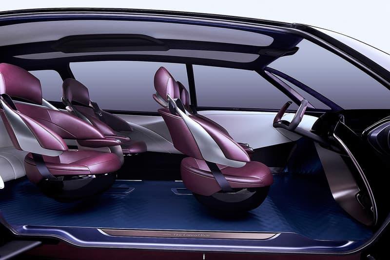 TOYOTA より燃料電池自動車の未来を見据えた最新モデル Fine-Confort Ride が発表 FCV 6人乗り プレミアムサルーン 第45回東京モーターショー2017