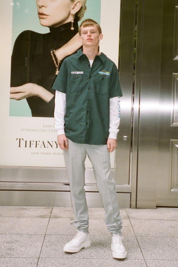 素材/縫製/形を追求した TTT_MSW の2018年春夏コレクションルックブックが公開 ティー 玉田翔太 2018ss spring summer ワークシャツ シャツ  THOMAS MASON トーマス メイソン
