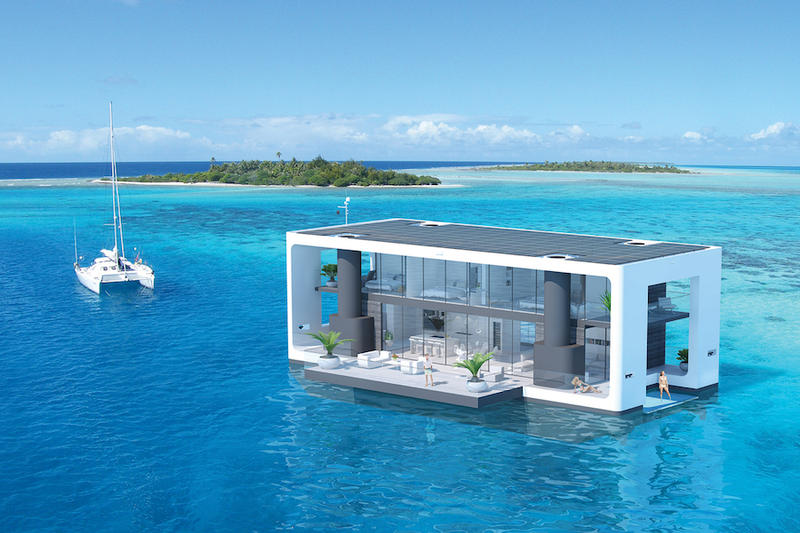 海のど真ん中に位置する開放感を追求した極上のリゾートハウス 寝起きからそのまま海に飛び込める海好きにたまらない海上住宅 Arkup Mobile Overwater Villas Koen Olthuis HYPEBEAST ハイプビースト