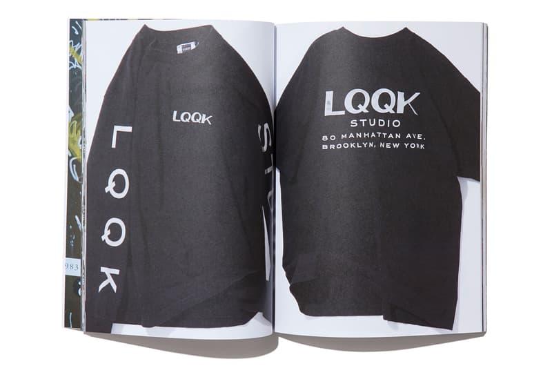 LQQK Studio よりプリントスタジオの道しるべを辿るアーカイブブックが発売 歴代コレクションアイテムやスタジオ内/作業風景も掲載されたストリートに身を置く者にとって欠かせないバイブル Tom Sachs Richerdson Magazine N.HOOLYWOOD