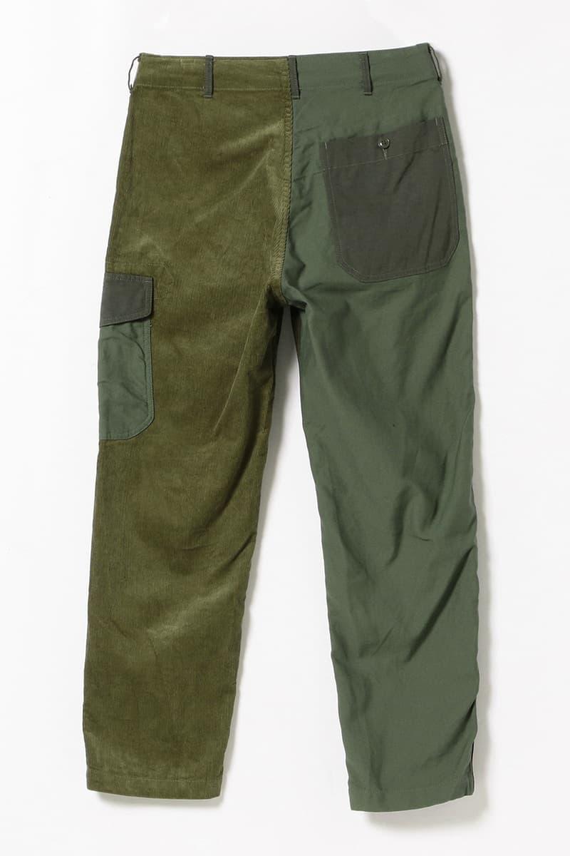 BEAMS PLUS が Engineered Garments に5種類の異素材を採用したクレイジーパターンのミリタリーウェアを別注 テーマは「もし、Engineered Garmentsが軍にユニフォームを製作/納品したら」 HYPEBEAST ハイプビースト