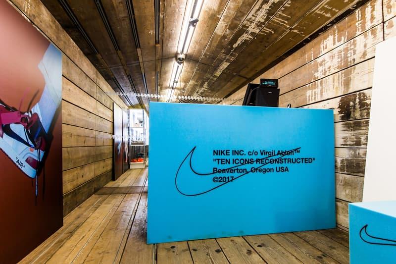 """ロンドンのスニーカーショップ Footpatrol での Virgil Abloh x Nike """"The Ten"""" 発売日の様子をキャッチ フットパトロール ロンドン ヴァージル アブロー ナイキ ザ・テン スニーカー フットウェア コラボ プロジェクト ハイプビースト hypebeast"""