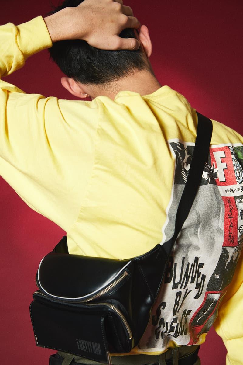 次世代東京ブランドの最右翼 FORTYFOUR 2018年春夏コレクション シーンを知り尽くす業界人はもちろん、あのA$AP Rockyも注目する新鋭レーベルは是が非でも覚えておくべし エイサップ ロッキー フォーティーフォー ストリート モード HYPEBEAST ハイプビースト ルックブック