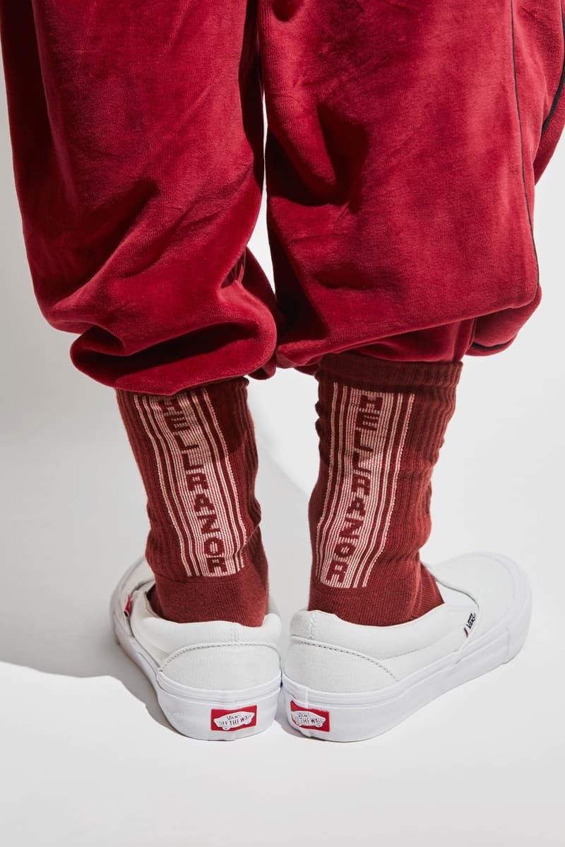スケートの枠を超えた新鋭ブランド Hellrazor より 2017年秋冬コレクションが到着 今季のシーズンテーマは、不良の中でも頭のいい奴…? フーディ ベロアセットアップ ワークジャケット ハーフジップスウェット ダイス ソックス