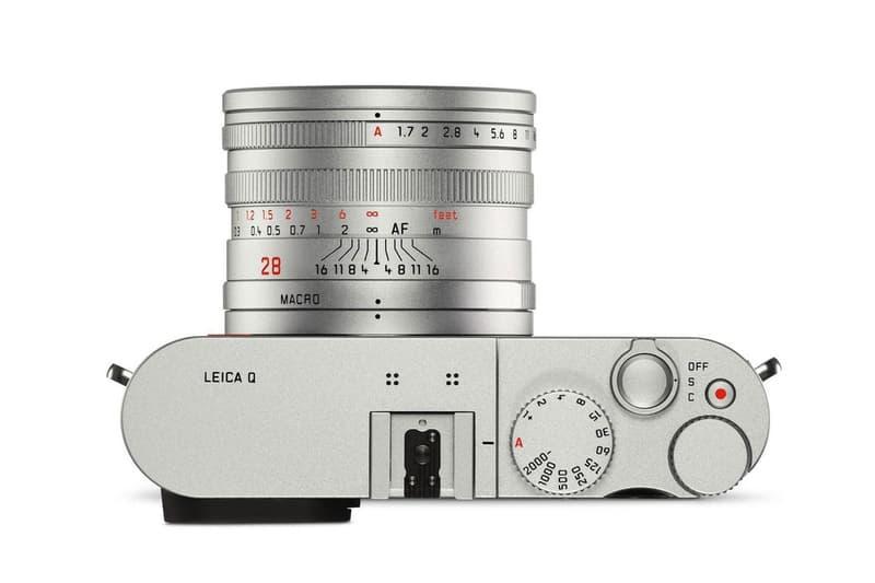 クラシカルなデザインを纏った人気高級コンデジ Leica Q 新色シルバーモデルが登場 ライカ