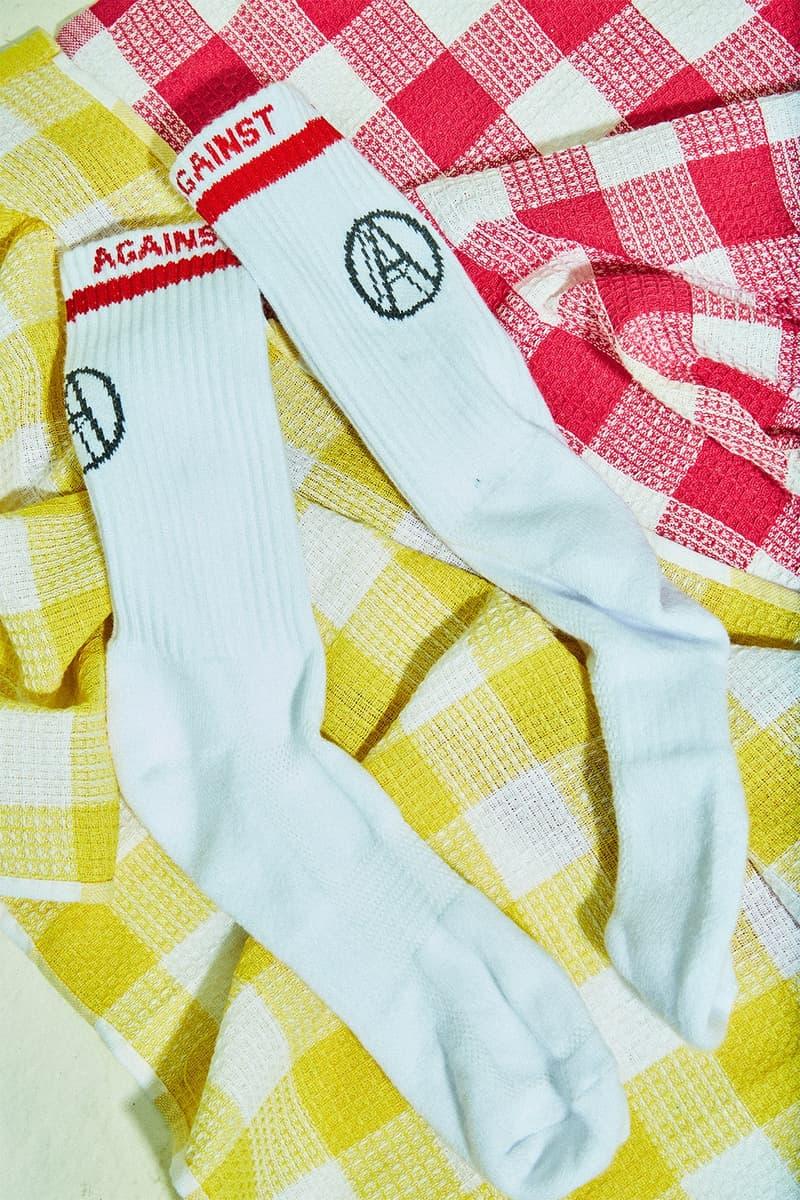 Against Lab より今の気分にぴったりハマる2017年秋冬コレクションが到着 東南アジア発の最注目ストリートブランドが映し出す、80年代から90年代のカルチャーとは? フーディ Tシャツ 靴下 東南アジア アンダーグラウンドカルチャー