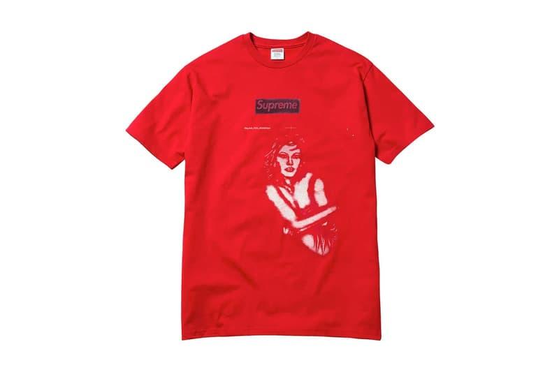 """Supreme x アンドレイ・モロドキンの激レアサンプルTシャツが驚愕の値札をつけて突如市場に姿を現す あの名作""""Pen Box Tee""""をデザインしたロシア人アーティストがボディにメグ・ライアンとドナルド・トランプをプリントした珍品"""