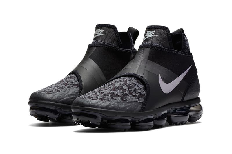 Nike Air VaporMax からミッドアンクルブーツのシルエットを纏った新作 Chukka Slip が登場 ナイキ エアヴェイパーマックス ブラック オールブラック