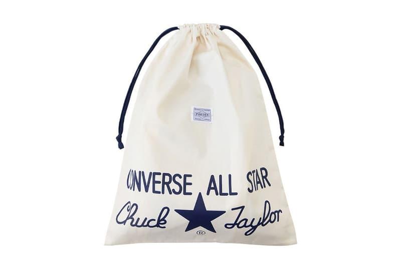 Converse より All Star® 生誕100周年を記念した PORTER とのコラボモデルが登場 人気シリーズPORTER SMOKYのコーデュラ®ダック生地を採用した大人の1足