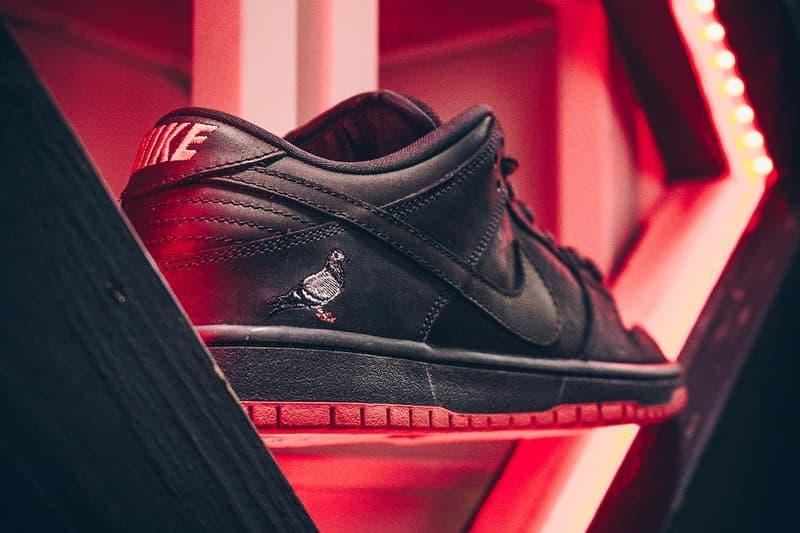 "Nike SB Dunk Low ""Black Pigeon"" の発売前に盛り上がる NY で並び規制のために警察が出動"