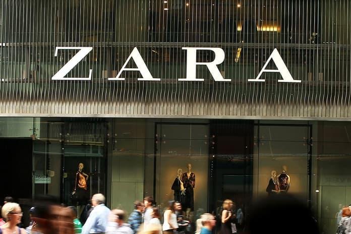 Zara から見慣れないタグが縫い付けられた商品が発見される