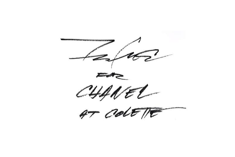 グラフィティ界のレジェンド Futura が colette x CHANEL を祝しライブペインティングを開催 フューチュラ コレット シャネル ライブ ペインティング グラフィティ パリ ハイプビースト hypebeast