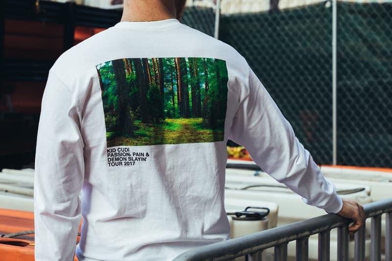 """ヴァージル・アブローがデザインした Kid Cudi の """"MR. RAGER"""" コレクションが期間限定販売中 virgil abloh キッド カディ ヴォージル アブロー カプセル コレクション マーチ ツアー Tシャツ グラフィック ハイプビースト hypebeast PASSION PAIN AND DEMON SLAYIN'"""