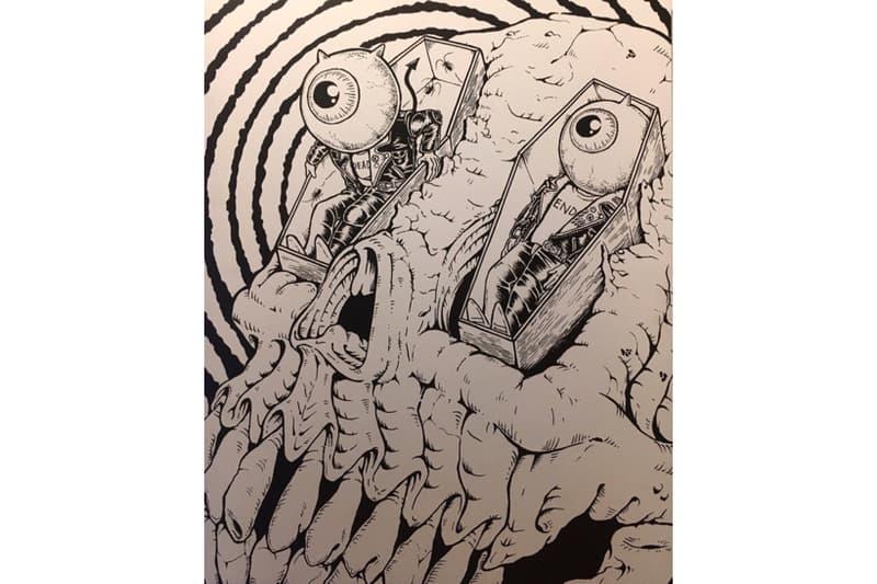 妖怪・モンスター展 tattoo Lowbrow  Chris Garver AKILLA aka 彫倭 KAZZROCK GxBxT KONER GALLERY HYPEBEAST ハイプビースト