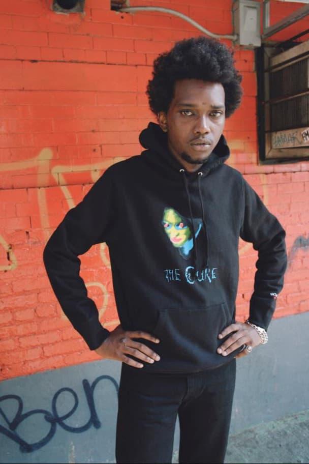 Noah が伝説的バンド The Cure をフィーチャーしたコレクションを発売 ノア ザ・キュアー バンド イギリス Brendon Babenzien ブレンドン バベンジン コラボ フーディ Tシャツ コレクション ハイプビースト