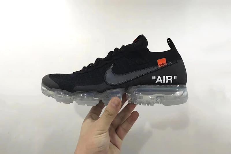 """""""The Ten"""" の新作 Off-White™ x Nike Air VaporMax のビジュアルがリーク 次回リリースではヴァージルがホワイト、ブラックの2色をコレクションに追加? ヴァージル アブロー オフホワイト ナイキ スニーカー The Ten HYPEBEAST ハイプビースト"""