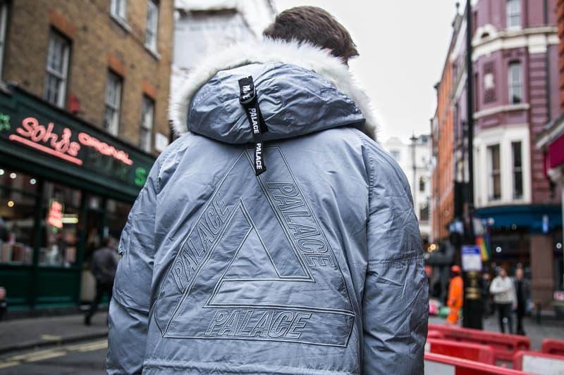 新境地を感じた Palace 2017年冬季コレクションのロンドンローンチをフォトレポートでお届け N-3Bやタクティカルベストなどミリタリーアイテムが人気の筆頭だった模様 パレス アウター 発売日 フーディ Tシャツ ロングスリーブ パーカ HYPEBEAST ハイプビースト ストリート ストリートウェア