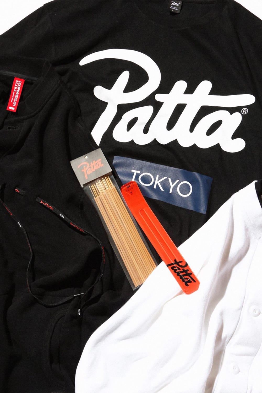ビームス PATTA / (BEAMS) Tee/ Asia Tour Long Sleeve