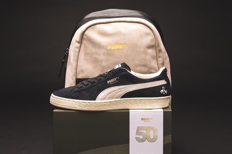 PUMA より創設者のルドルフ・ダスラーに敬意を示した SUEDE 50周年記念モデルが登場 プーマ