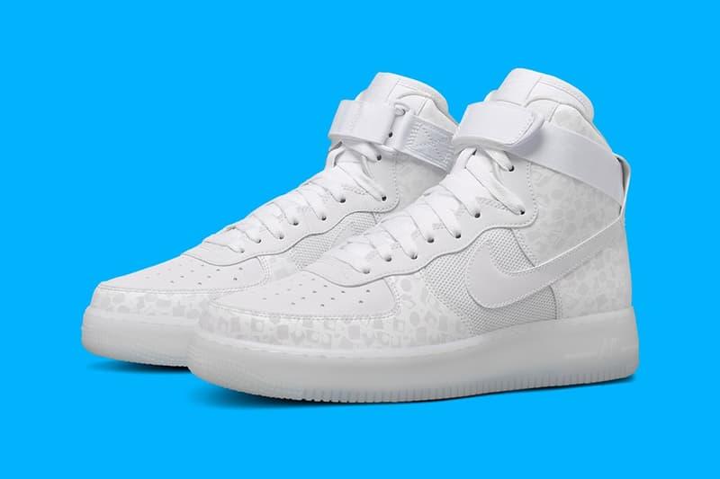 遂にグラフィック界の巨匠 Stash x Nike によるコラボ Air Force 1 の全貌が明らかに 〈Nike〉のオフィシャルサイトに公開され、数時間で削除されたのはただの間違いなのか?