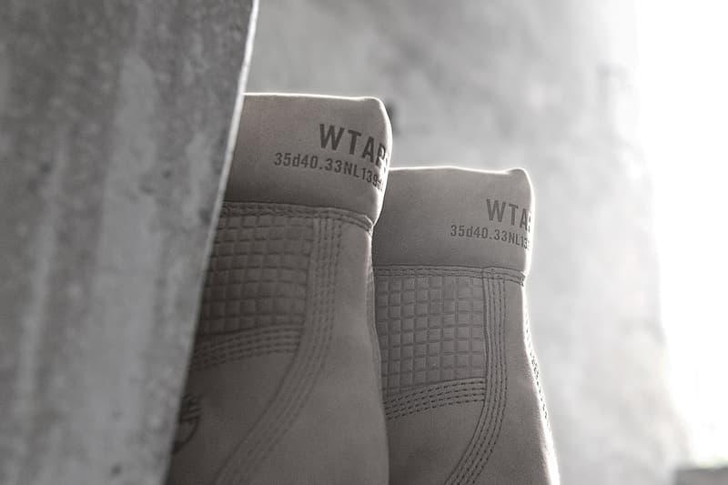 ダブルタップス  ティンバーランド のタッグより骨太な コラボ ブーツ が登場 WTAPS x Timberland