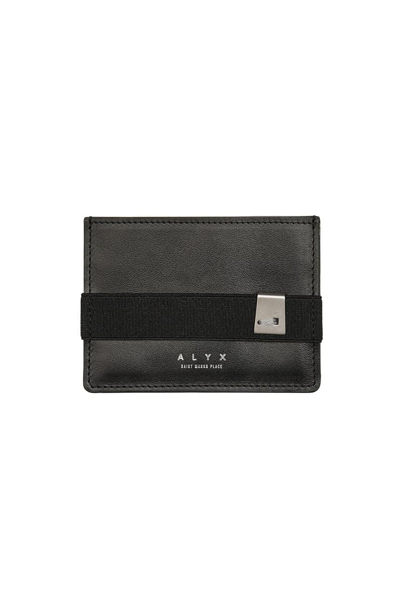 注目度上昇中のアリクスよりブランド初となるレザー小物コレクションが登場 alyx