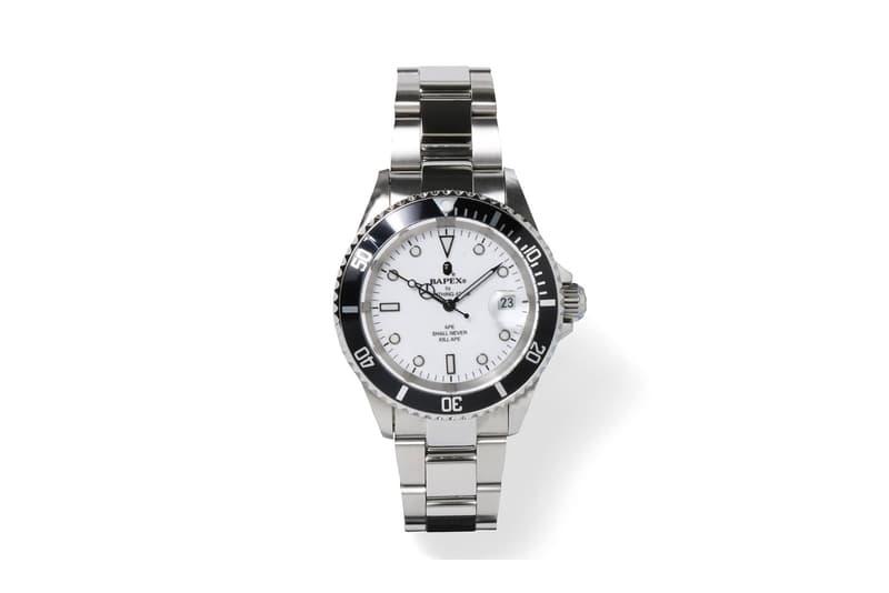 BAPE® のエレガントな腕時計シリーズ Type 1 BAPEX® に新たな3色が登場 ベイプ  A BATHING APE® ア ベイシング エイプ 時計 ウォッチ リスト 腕時計 プレゼント 男性 クリスマス ハイプ ビースト hypebeast