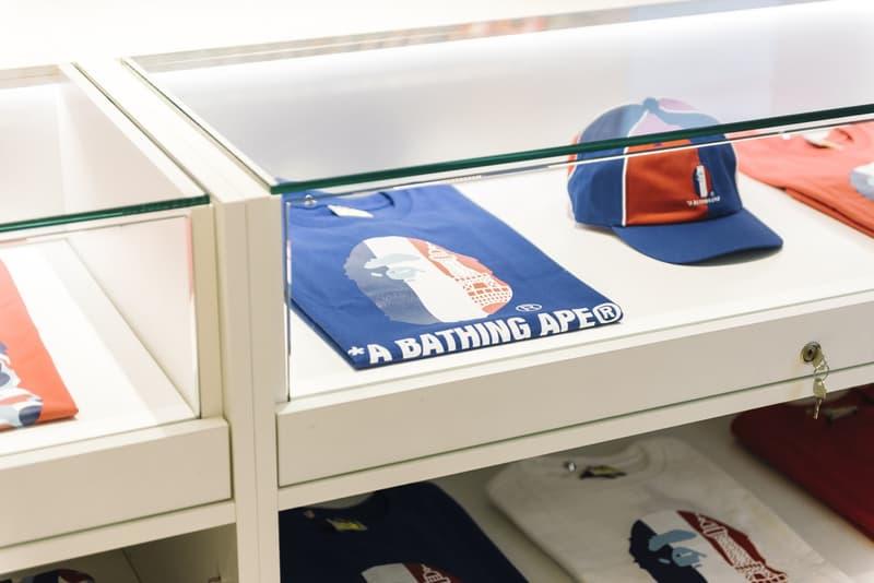 A BATHING APE® のパリ店が遂にオープン ア ベイシング エイプ ベイプ パリ ハイプビースト BAPE HYPEBEAST 新店舗 デザイン 内装 店内 BAPE