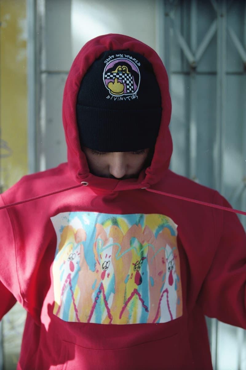 DIVINITIES が日本人アーティスト SHINKNOWNSUKE とのコラボにも注目の最新ルックブックをドロップ