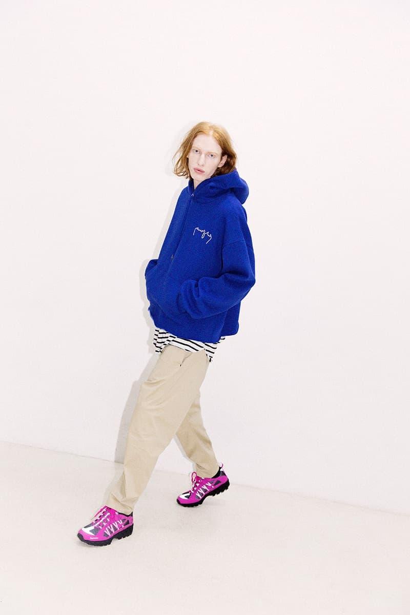 韓国ブランド ENZO BLUES の色鮮やかな最新ルックブック