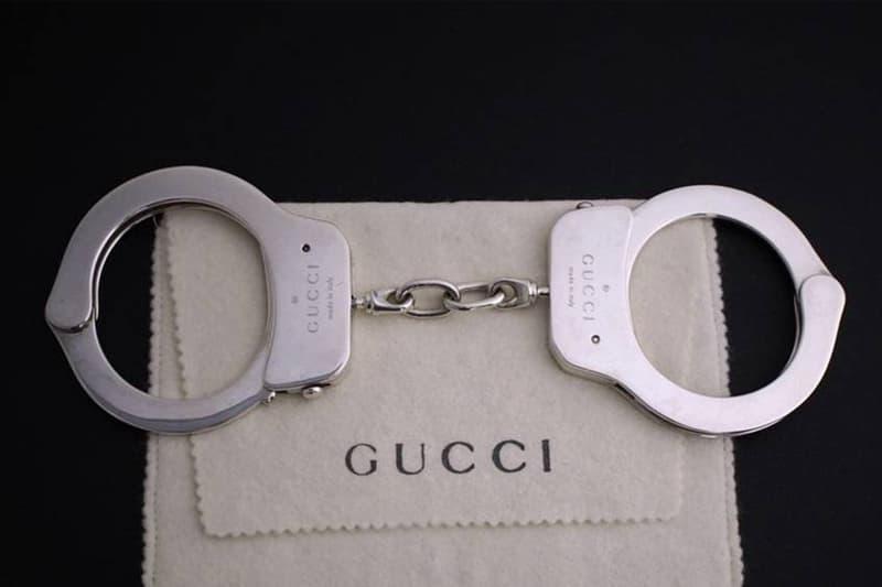 Gucci の手錠がリセールサイト Grailed にて破格の値段で出品される 高級外車が1台買えるその手錠には現在200人近くのユーザーが興味を示してる模様 グッチ Tom Ford トム・フォード ビッグメゾン ハンドカフス HYPEBEAST ハイプビースト