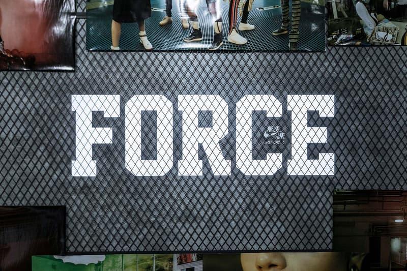 """香港にてHBXが開催中のNike """"AF-100"""" ポップアップスペースをチェック HYPEBEAST ハイプビースト ナイキ エアフォース1 Air force 1"""