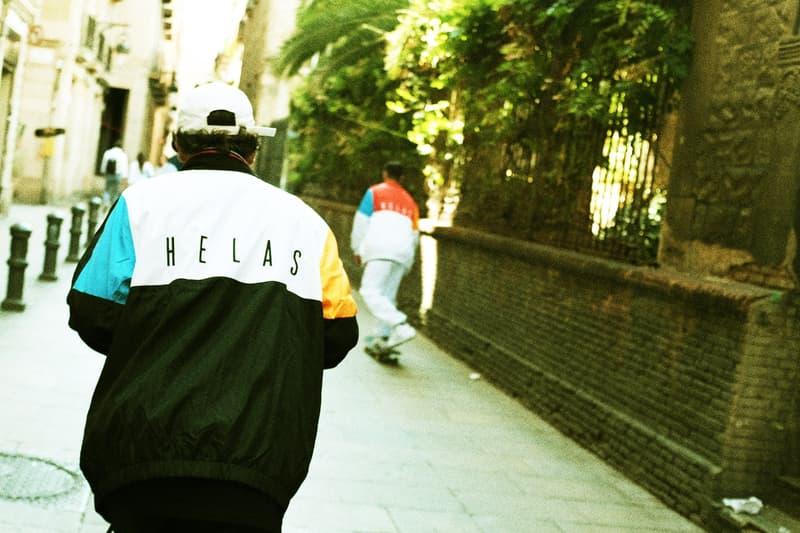"""フランス屈指のスケートレーベル Hélas が2017年冬季コレクション """"HCC ZULU"""" を発表 90'sストリートで流行したセーリングや『スペース・ジャム』オマージュのアイテムが購買意欲を駆り立てる ヘラス"""
