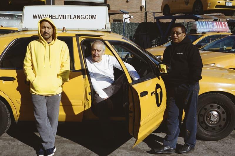 """Helmut Lang より NY のイエローキャブをテーマとした """"Taxi Project"""" カプセルコレクションが登場 ヘルムート ラング タクシー キャブ イエロー 黄色 ニューヨーク フーディ ロングスリーブ Tシャツ 運転手 ドライバー Iain R. Webb イアン ウェブ ハイプビースト hypebeast"""