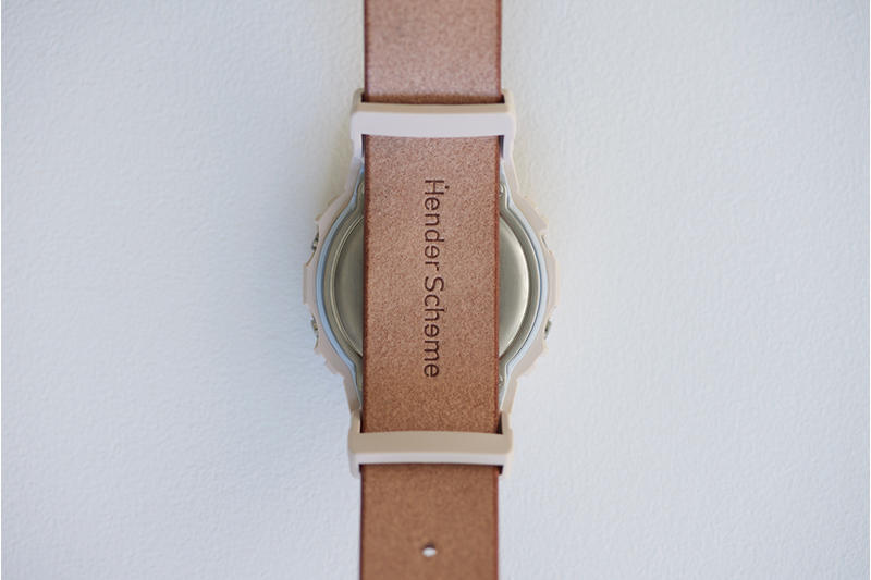Hender Scheme が G-SHOCK 史上初の本革レザーバンドを使用したコラボモデルを発売