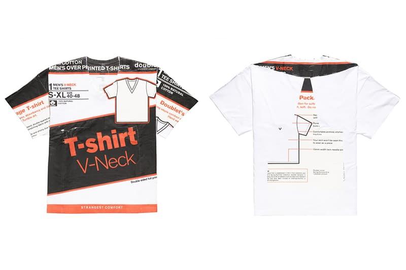doublet が開封の難儀さで話題を呼ぶデッドストックパッケージTシャツの着用方法をご紹介 2018年春夏コレクション随一の注目アイテムを昭和テイストの動画でドラァグクイーンが解説 ダブレット Doublet Deadstock Package T-Shirt  デザイナー 井野将之 2018年春夏 18ss HYPEBEAST ハイプビースト