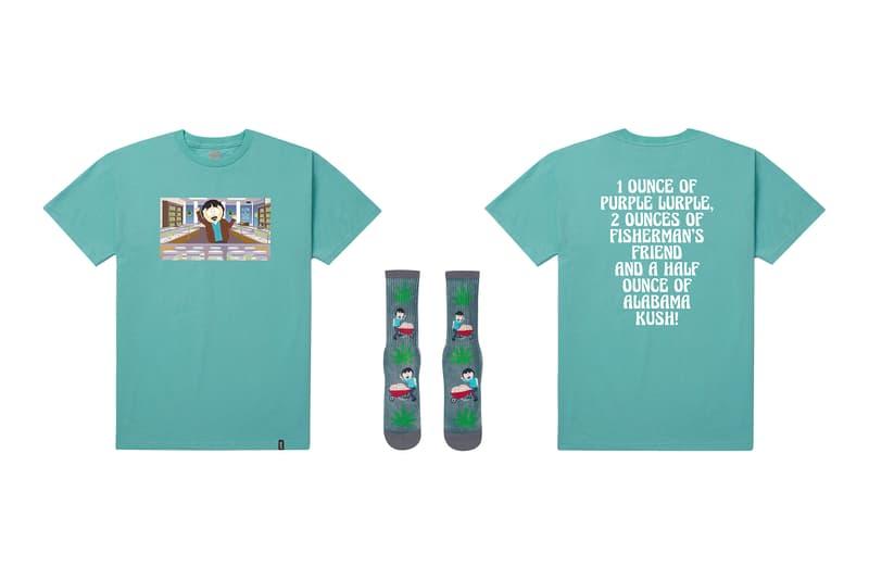 HUF よりアメリカの過激派コメディアニメ SOUTH PARK とのコラボコレクションが登場 ポップでコミカルタッチのグラフィックを配置したアパレル&グッズ全16点がラインアップ フーディ Tシャツ ロングスリーブ スケートデッキ ソックス