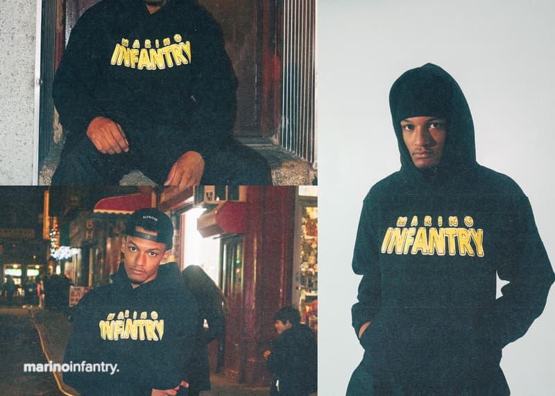 A$AP Ant が手がける Marino Infantry よりグラフィックを大胆に配した新作フーディが登場 ストリート感たっぷりのあるヘビーオンスフーディは完売必至なのでお早めに A$AP Rocky Converse A$AP Nast A$AP Mob マリノインファントリー エイサップ・ロッキー コンバース エイサップ・ナスト エイサップ・モブ エイサップ・アント Playboi Carti プレイボーイ・カルティ Lil Uzi Vert リル・ウージ・ヴァート Squad