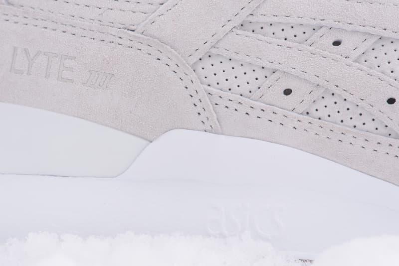 温かなシェルパフリースをインナーに採用した KITH x Moncler x ASICS による GEL-Lyte III がリリース キス  モンクレール  アシックス ゲル ライト スリー 3 フリース 冬 スニーカー ふかふか ハイプ ビースト hype beast レッド ネイビー ベージュ