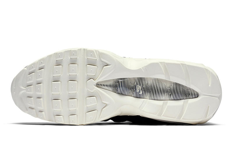 シュータンにストラップが施された Nike Air Max 95 が新たな3色で登場 ナイキ エア マックス ハイプビースト ブラック ホワイト レッド プルタブ airmax