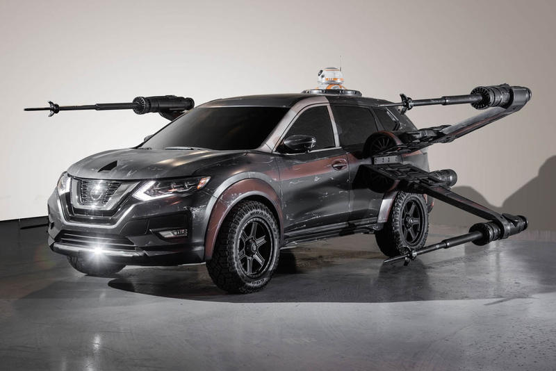 日産が『スター・ウォーズ/最後のジェダイ』のコンセプトコレクションを発表 公道車両がBB-8ドッキングのXウイングやTIEファイターの要素を取り入れ、宇宙特化型戦闘機に生まれ変わる カイロ・レン 映画 ルーカスフィルム HYPEBEAST ハイプビースト Nissan