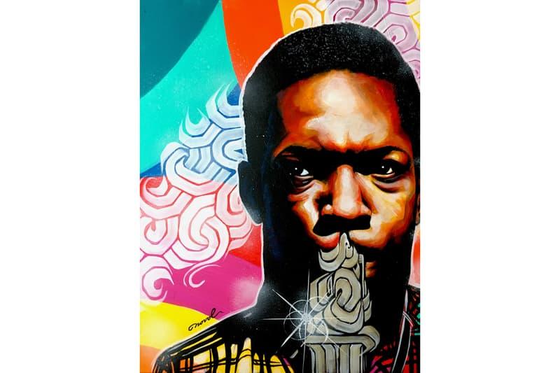 ジャズ、ソウル、ヒップホップなど、視覚で音楽を奏でるペインティングアーティストNOVOLのアートブック