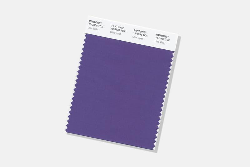 """色の権威 Pantone が2018年のトレンドカラーを発表 色を知り尽くした「Pantone」が""""Ultra Violet(ウルトラバイオレット)""""を選出した理由とは? パントン パントーン 色彩検定  Pantone 18-3838 HYPEBEAST ハイプビースト"""
