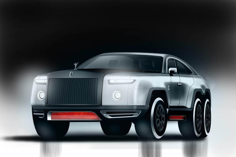 Rolls-Royce のファントムがまさかの 6x6 SUV に大変身!? 美しいフォルムを維持しながら景観を損なうことなくクロスカントリーヴィークルのエッセンスを注入 ロールス・ロイス 高級車 Phantom コンセプト