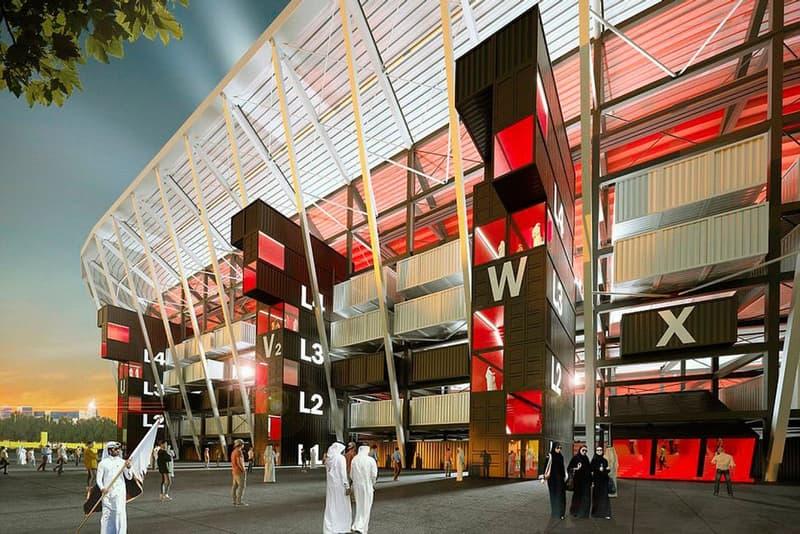 2022年カタール・サッカーW杯にて史上初となる再利用可能なスタジアムが完成か? 環境や資源に配慮した新スタジアム『Ras Abu Aboud Stadium』は2020年に完成予定 日本 ポーランド セネガル コロンビア Fenwick Iribarren Architects ラス・アブ・アブド・スタジアム カタール ドーバ HYPEBEAST ハイプビースト
