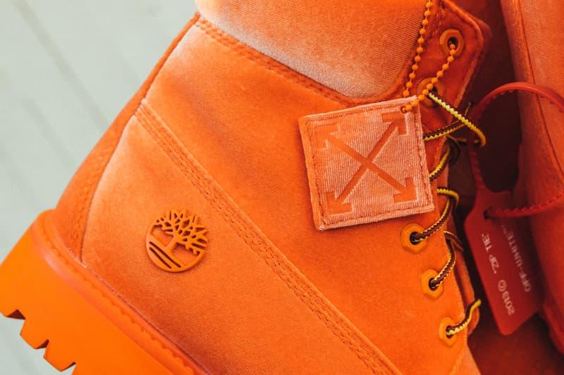 新色ビビッドオレンジも追加となった Off-White™️ x Timberland の6-Inch Boots にクローズアップ 今最も波に乗るコラボレーター Virgil Abloh が手がける2018年注目の1足をご確認あれ Virgil Abloh ヴァージル・アブロー 西山徹 WTAPS ダブルタップス HYPEBEAST ハイプビースト
